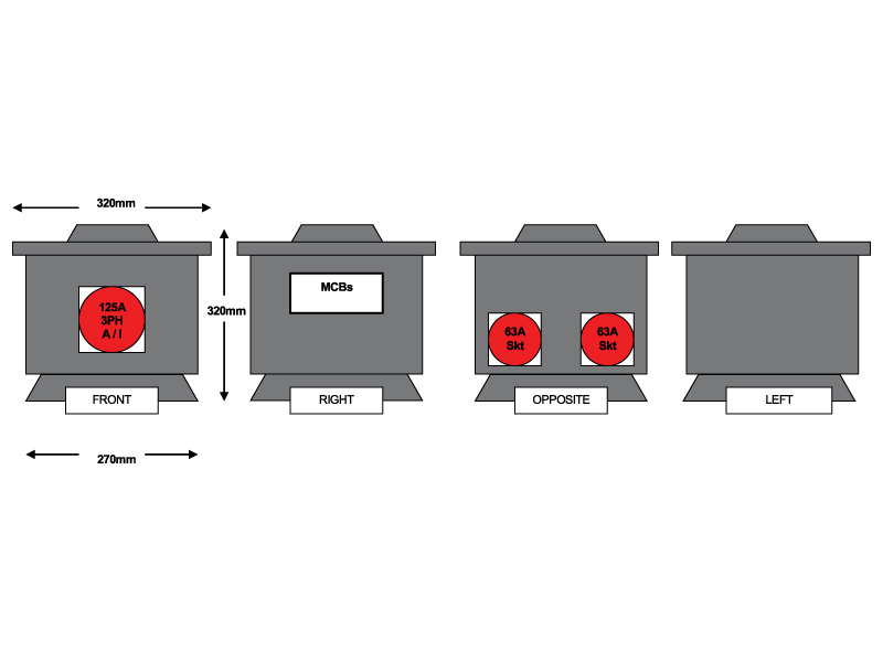 125A Supply - RUB2701253 Diagram