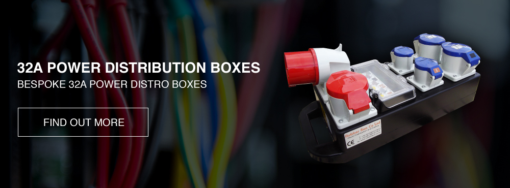 Power Distribution Boxes | Electrical Power Distros | Rubber Box